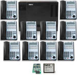 NEC1100 with 10 Phones and Voice Mail